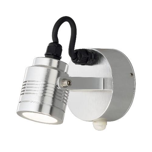 Led Wandstrahler Stripes : KONSTSMIDE LEDWandstrahler Monza Sensor Medium Bewegungsmelder 3 Watt