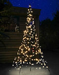 FAIRYBELL LED-Tannenbaum 200 cm, 300 warmweiße LED